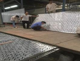 铝板雕刻屏风隔断