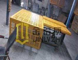 定制雕花铝板空调罩
