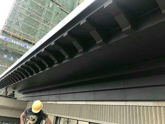 碧湖印象售楼部外墙铝单板完美竣工