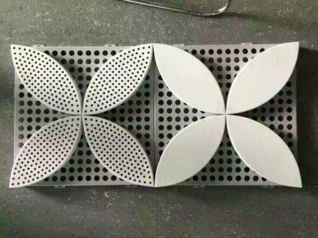 冲孔铝单板 冲孔铝单板幕