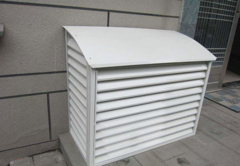 如何正确使用空调外机罩