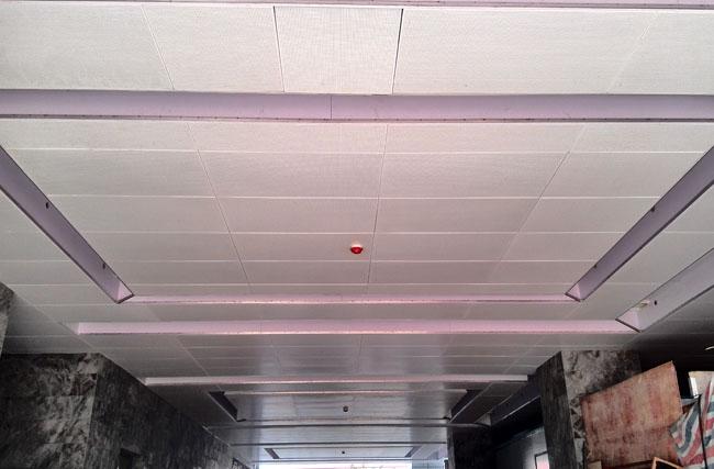 铝单板吊顶工程案例之中山医院附属二院南院扩建项目