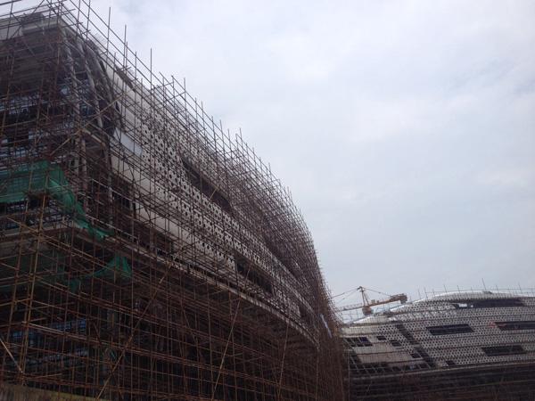 外墙铝单板工程案例之佛山三水万达广场