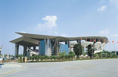 异形氟碳铝单板工程之广东奥林匹克体育中心