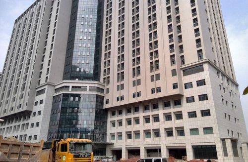 铝单板吊顶工程案例之中山医院附属二院南院扩
