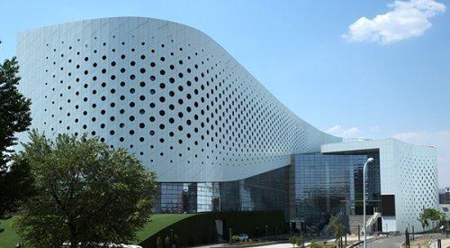 冲孔铝单板工程之内蒙古演艺中心