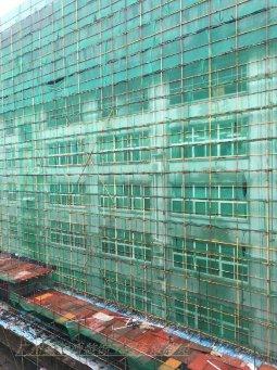 深圳旧楼外立面铝板、空调罩改造工程