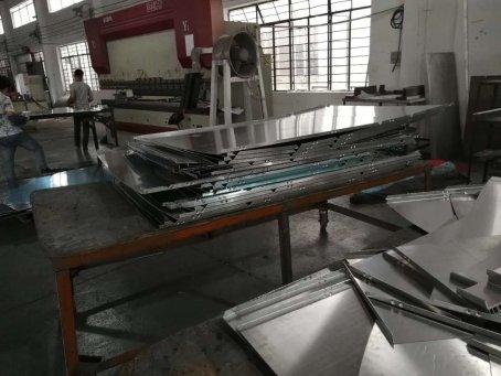 全自动铝单板数控折弯机