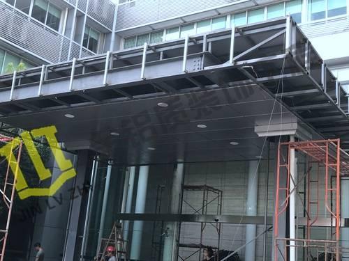 铝单板雨棚